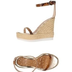 Espadrille Wedge Sandals Womens Size 9